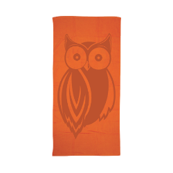 HR Tonal Owl Beach Towel Thumbnail
