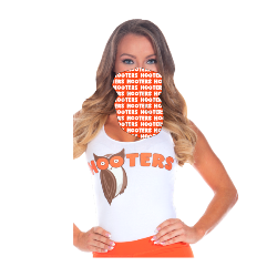 Hooters Neck Gaiter - Orange Thumbnail