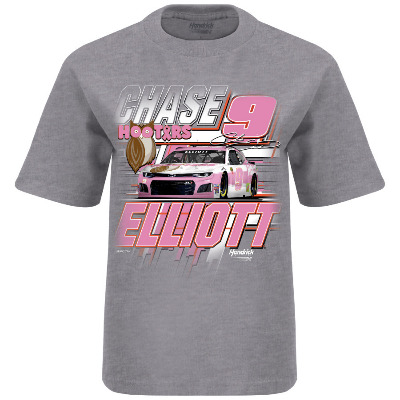 HR Chase Elliott Give A Hoot  Youth Tee