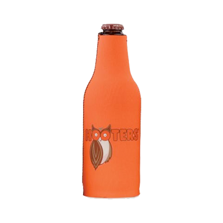 HR Hooters Bottle Koozie - Orange