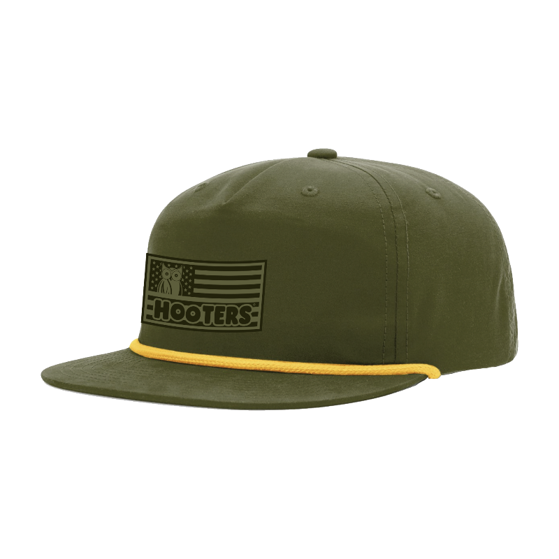 HO Support the Troops Five Panel Cap Olive