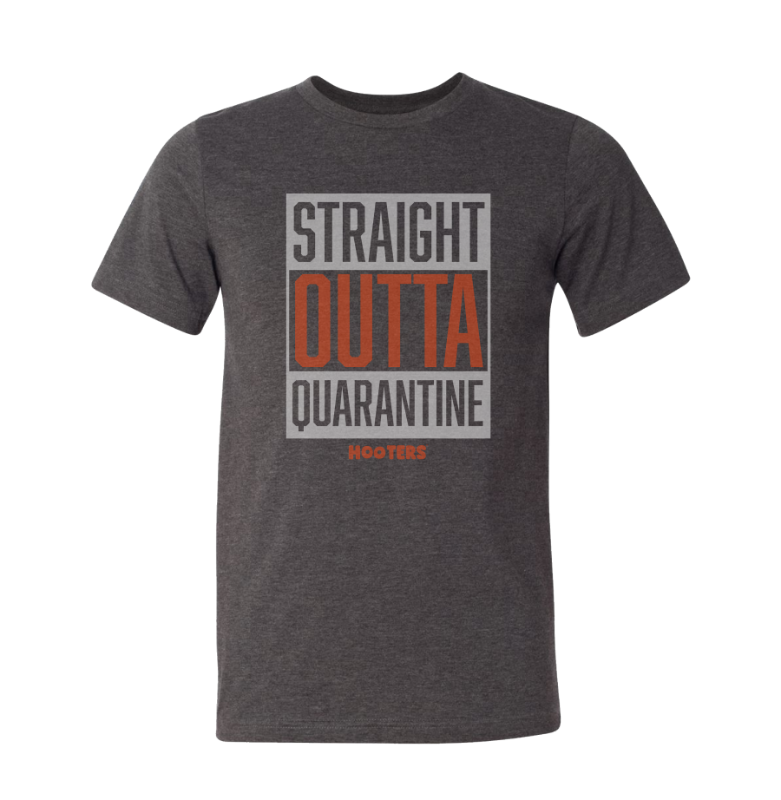 Straight Outta Quarantine Tee